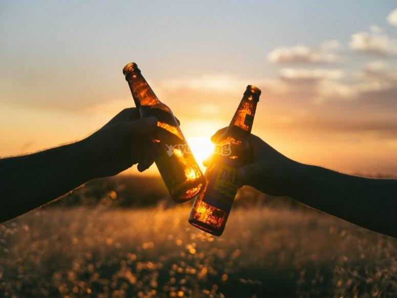 Una birra in compagnia