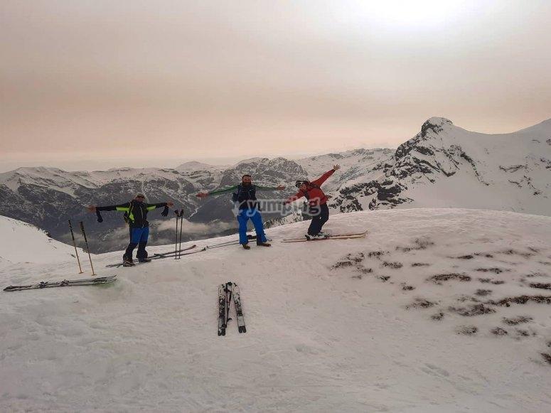 Divertimento sulla neve