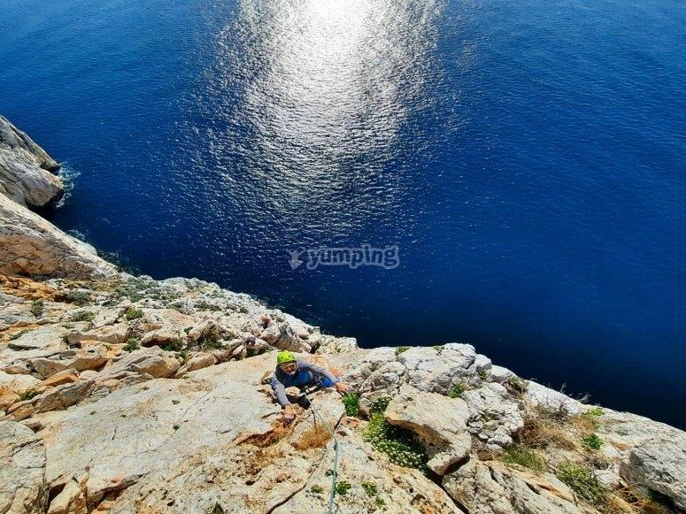 La mer de Sardaigne