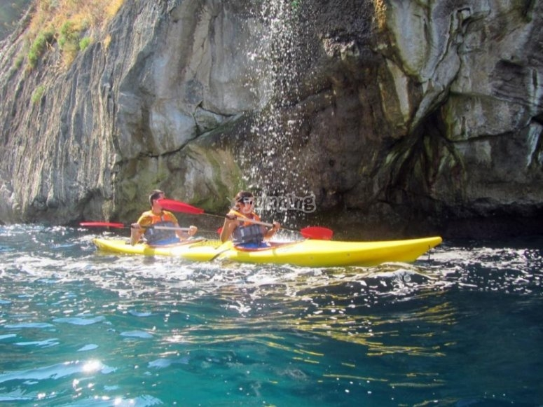 kayaking and laughter