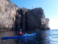Kayaking in Punta San Lorenzo