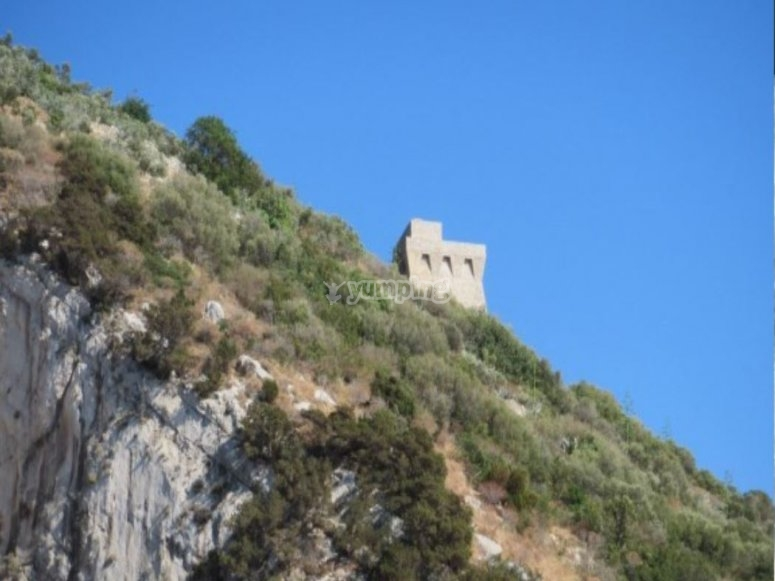 Ruins on the cliff