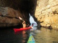 Kayaking in Massa Lubrense