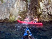 Kayak in Marina della Lobra