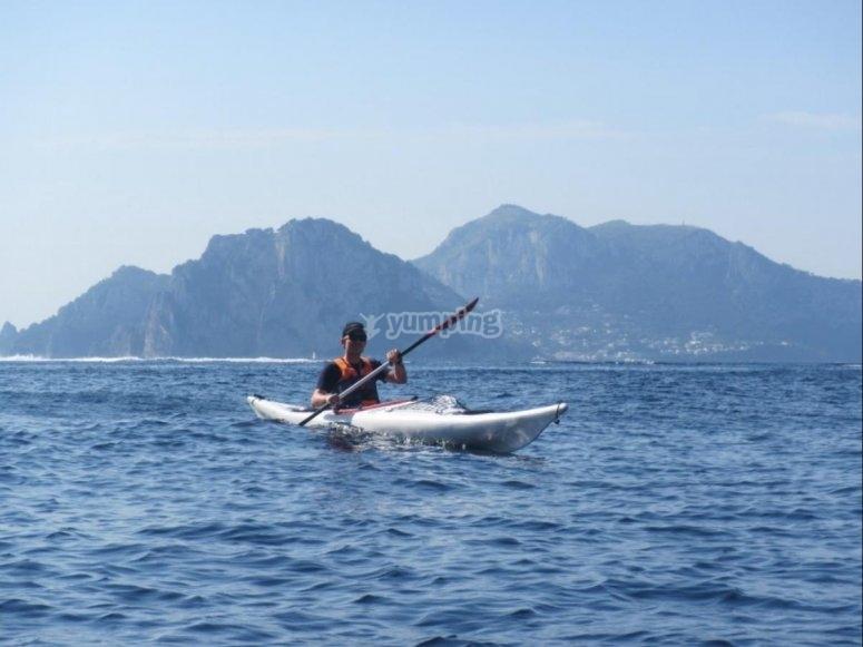 Kayak in Campania