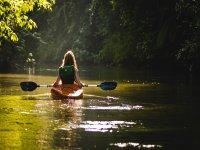 By canoe in Puglia