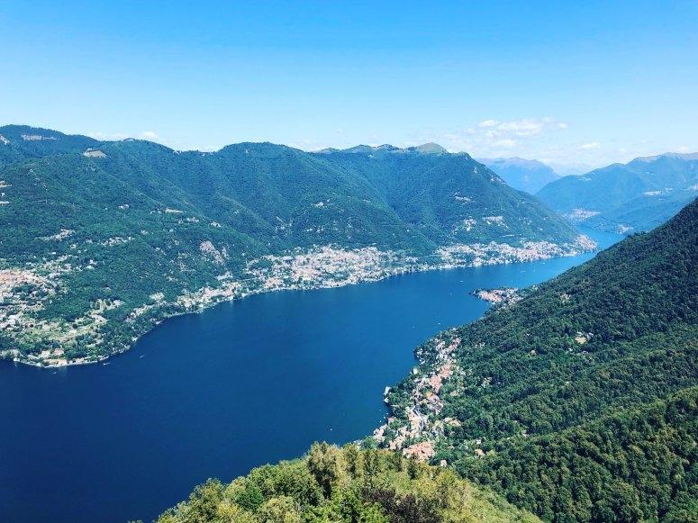 Bellissima vista del Lago di Como