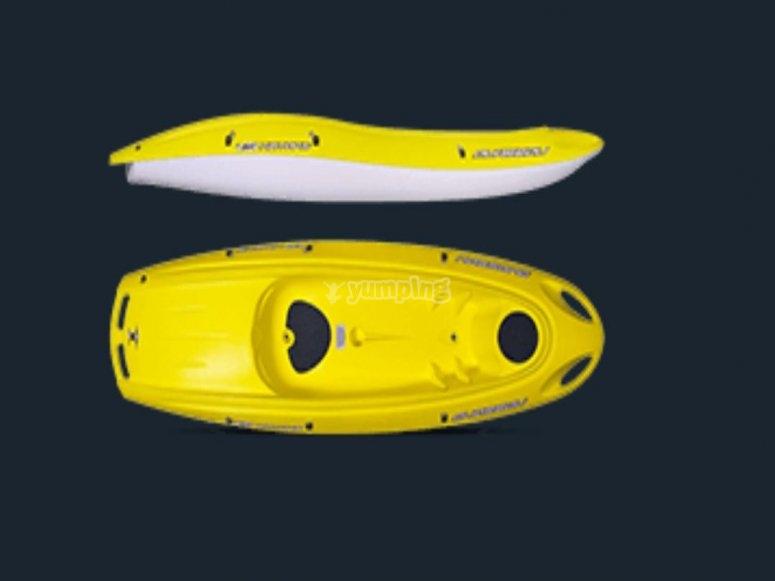 La nostra canoa singola