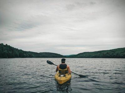 Noleggio canoa singola sul Lago di Como di 6 ore