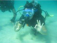 Everything ok underwater