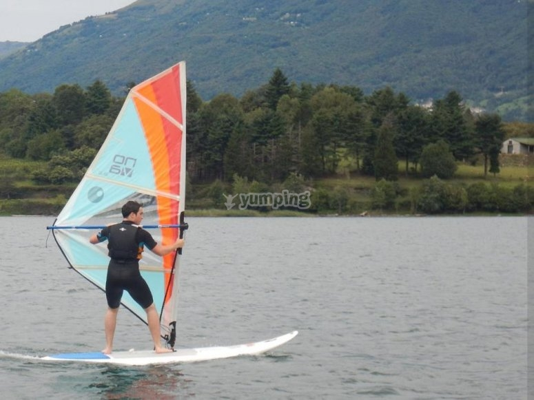 windsurfing in Colico