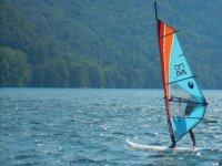 Corso base di windsurf a Colico Piano 4 ore