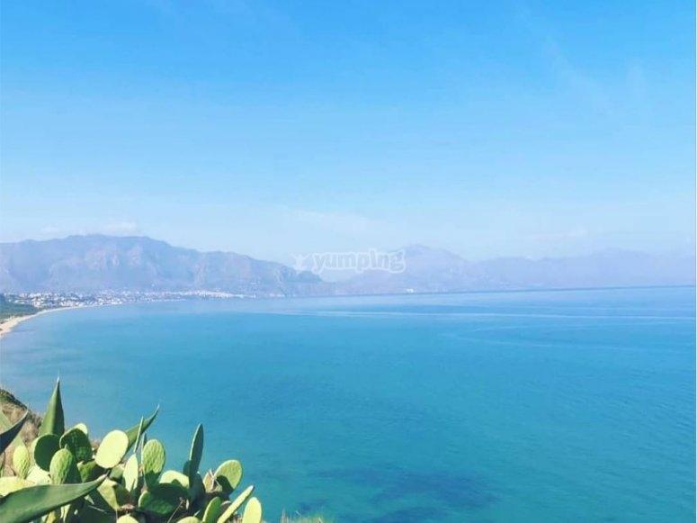 Splendida costa siciliana