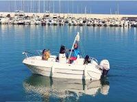 In barca senza patente nautica a Balestrate 8 ore