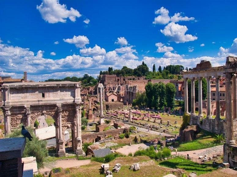 Roma in elicottero