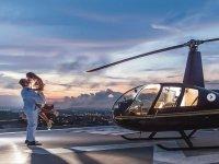 Esperienza romantica in elicottero