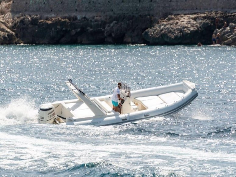 our dinghy awaits you