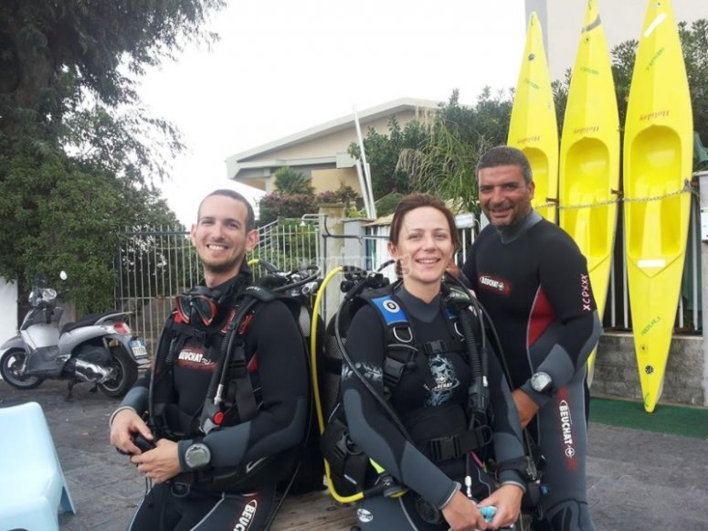 Ready for the dive