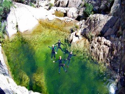 Escursione di canyoning sul Rio Pitrisconi 7 ore