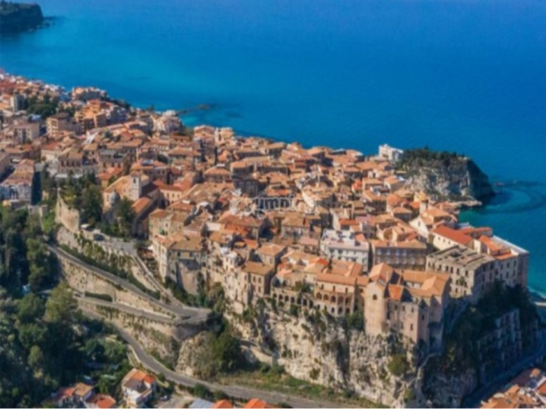 Tropea from above