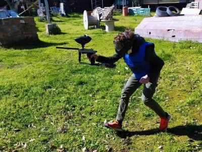 Paintball match in Pozzuoli 1 hour and 30 days on holiday