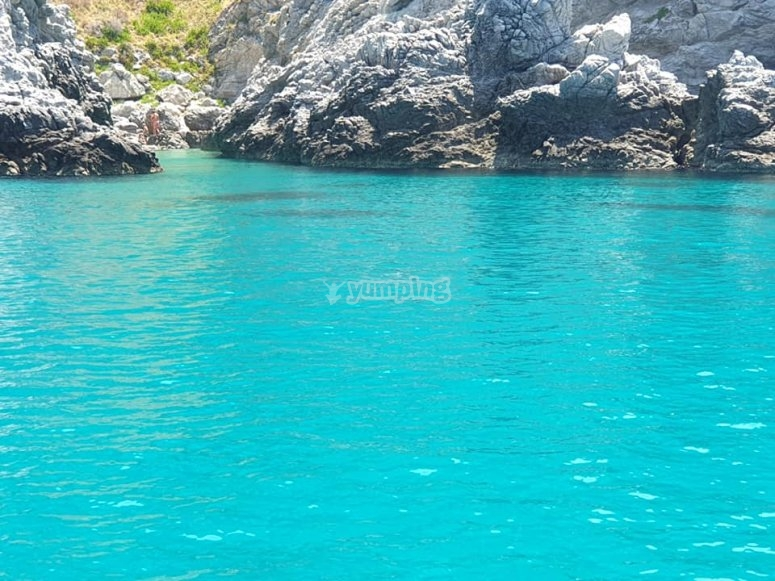 Celestial waters of Calabria