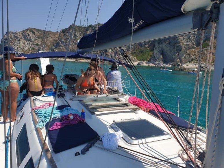 Excursion in the sea
