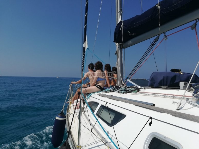 Tour on a sailing boat in Calabria