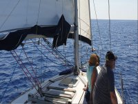 Excursion on a sailing boat