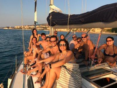 Aperitivo in barca a vela Costa degli Dei 2 ore 30