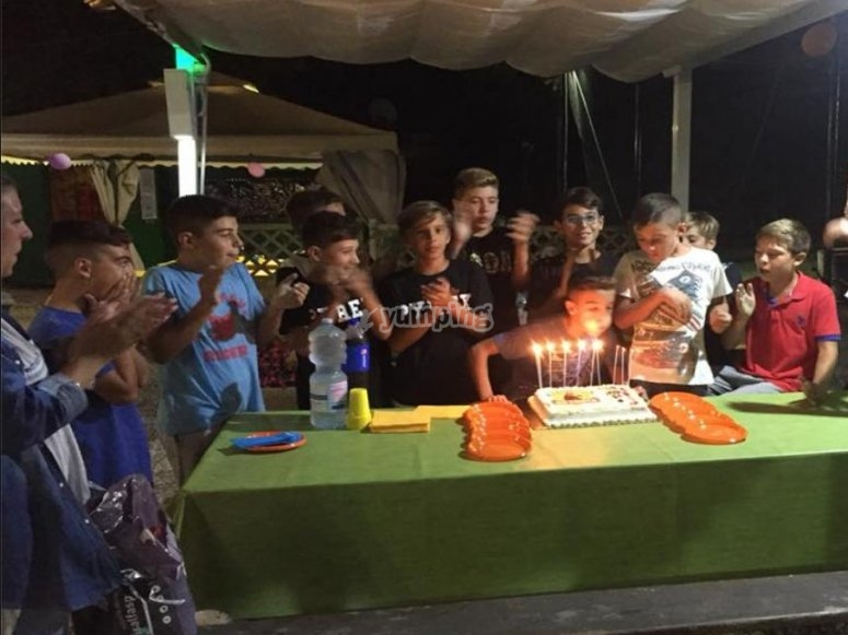 compleanno e paintball