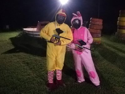 Paintball match and party in Pozzuoli 3 hours