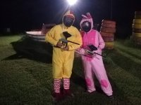 paintball di compleanno