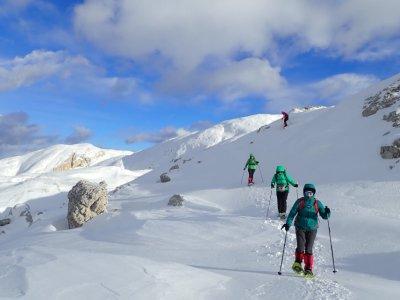 Ciaspolata media difficoltà a Passo San Boldo 6H