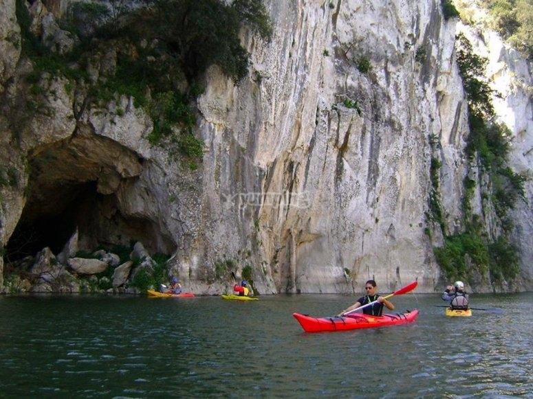 escursione inn kayak