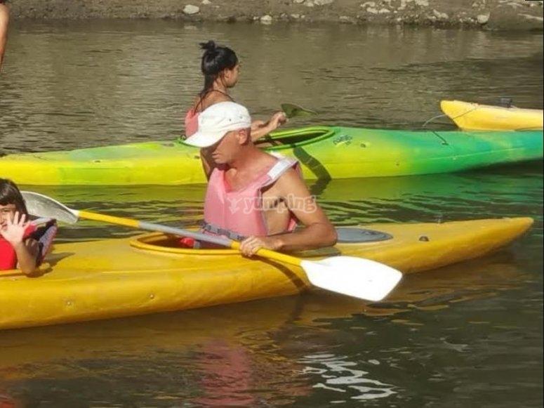 in kayak ad olbia