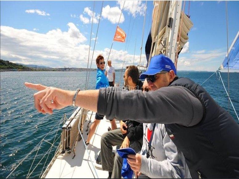 Navigando nel Mar Adriatico