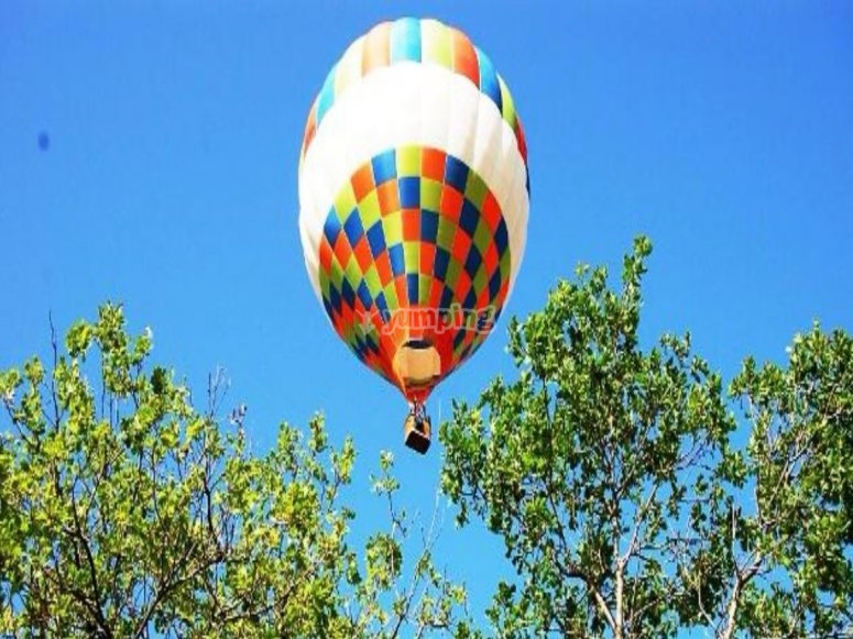 Val d'Itria in a hot air balloon