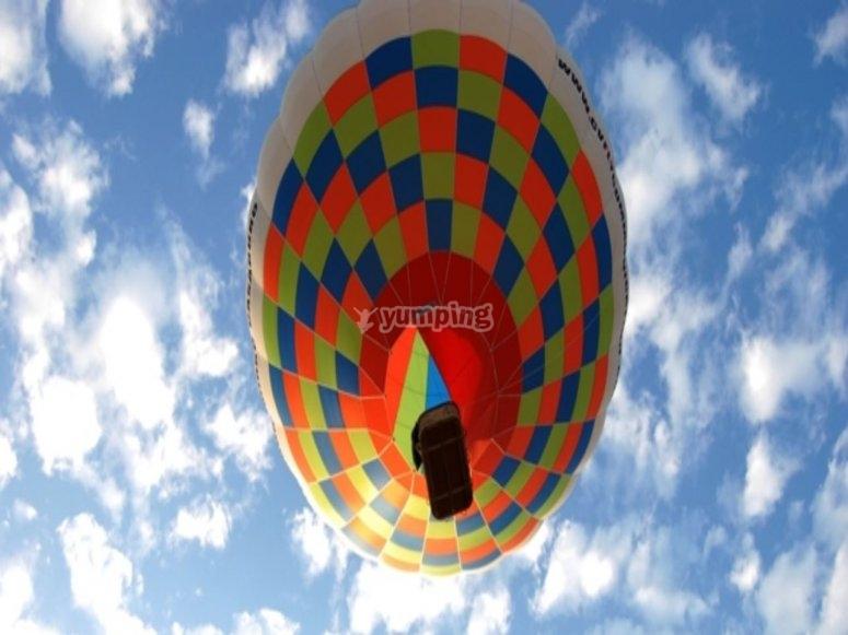 Hot air balloon flight in Puglia
