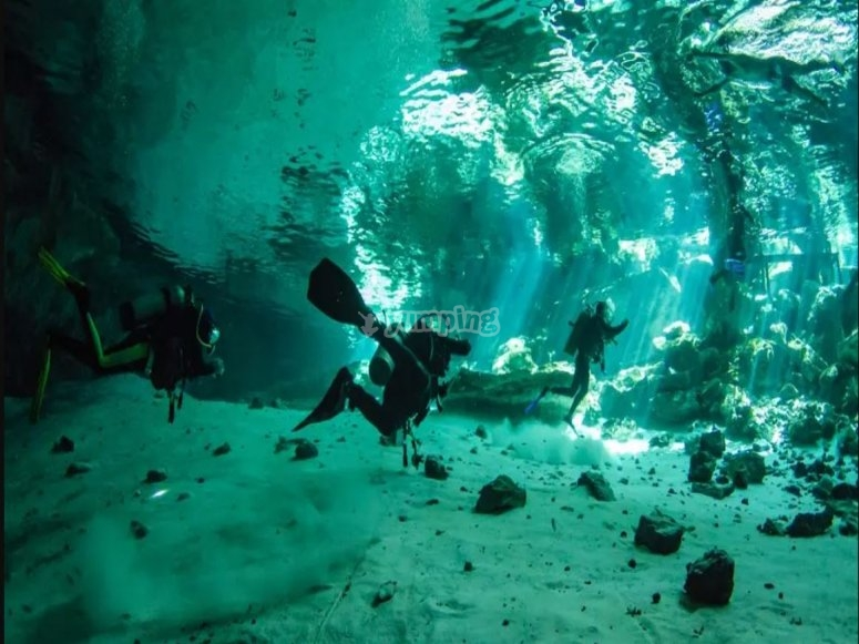 Diving course in Puglia