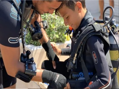 Children's diving course in Polignano a mare 6 hours