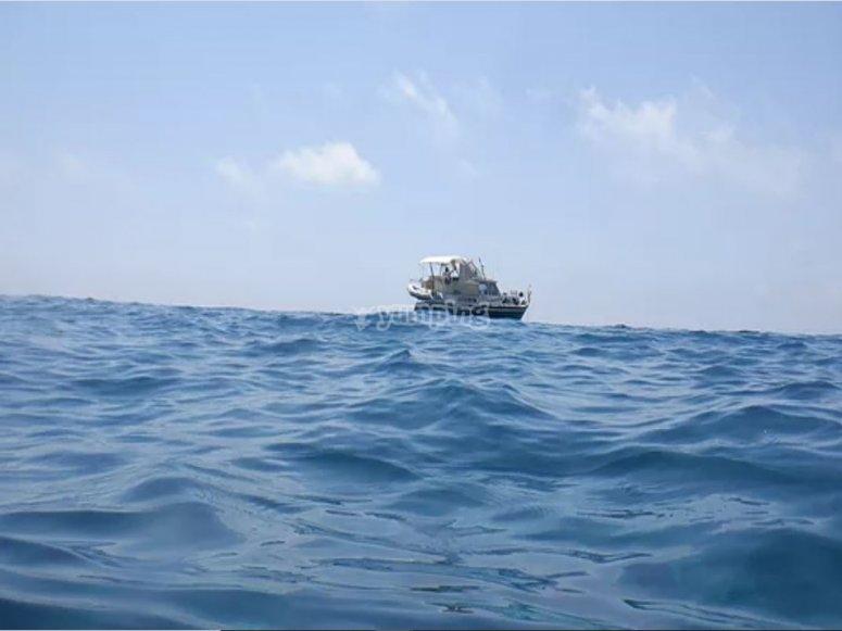 Navigando per il Mar Tirreno