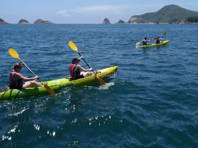 group canoe activities