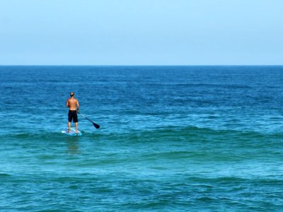 Stand up paddle lesson in Catania 1 hour