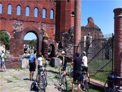 Turin city bike tour of 3 hours