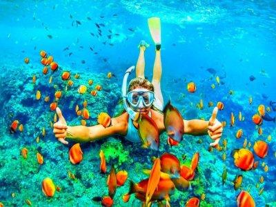 Snorkeling nei Bagni della Regina Giovanna di 3ore