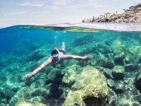 Snorkeling nei Bagni Regina Giovanna per minori 3H