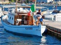 la nostra piccola imbarcazione