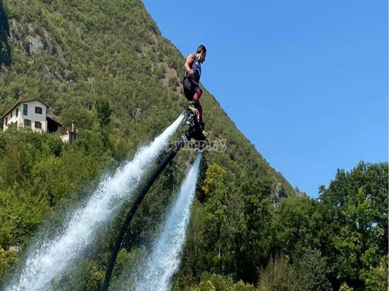 Flyboard a Castel Volturno