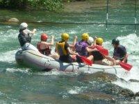 Rafting ed emozione